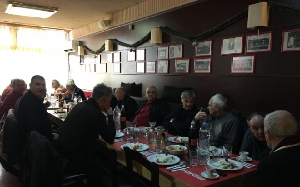 Ветераните на ЦСКА се събраха на