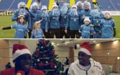 Левски и ЦСКА със забавни коледни поздрави към феновете