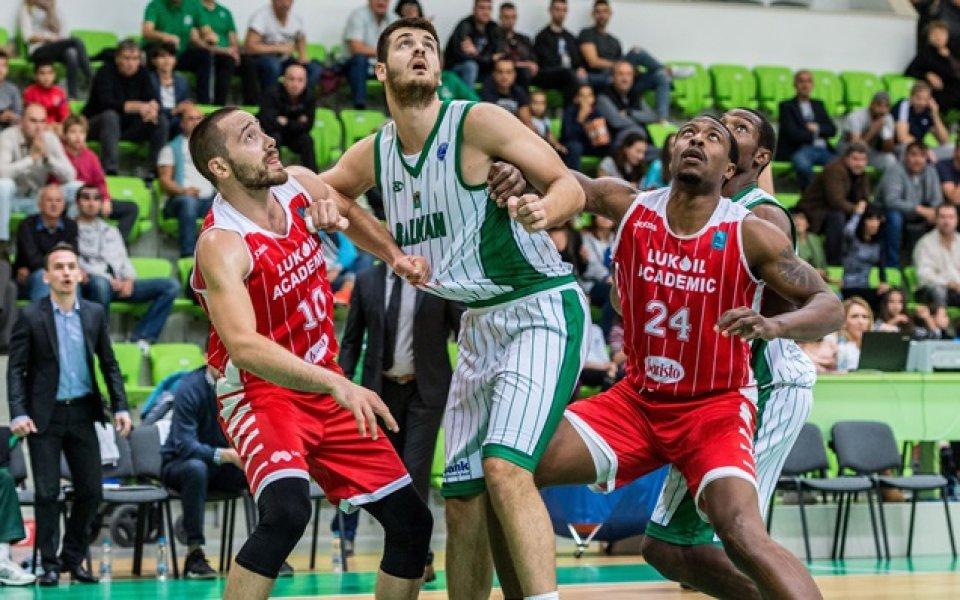Лукойл – Балкан в дербито на кръга в НБЛ