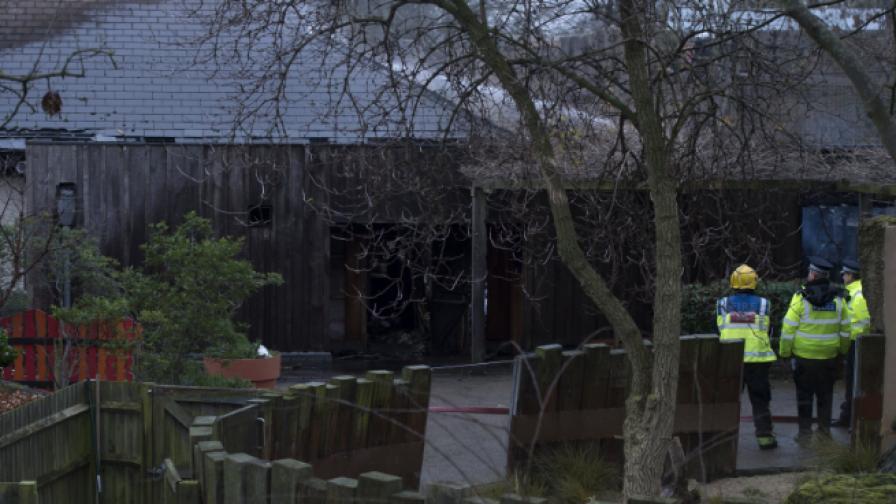Животно загина при пожар в зоопарк в Лондон, 9 души пострадаха