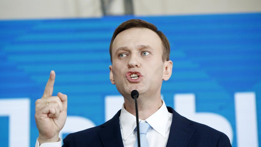 Официално: Навални отровен с вещество от групата на Новичок