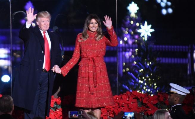 Вижте какво си пожела Доналд Тръмп за Коледа (ВИДЕО)