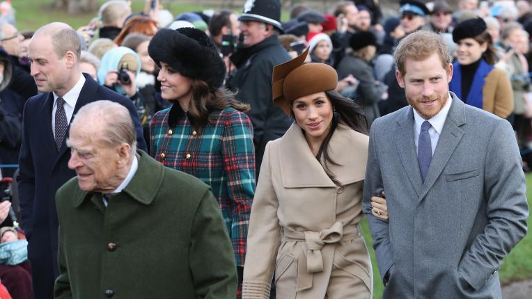 Двама братя и две невероятни красиви жени: принц Уилям, Кейт Мидълтън, принц Хари и Меган Маркъл вдъхновиха света на Коледа