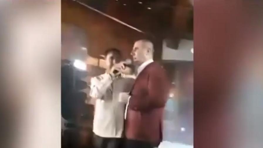Цветан Цветанов в дует с Веселин Маринов