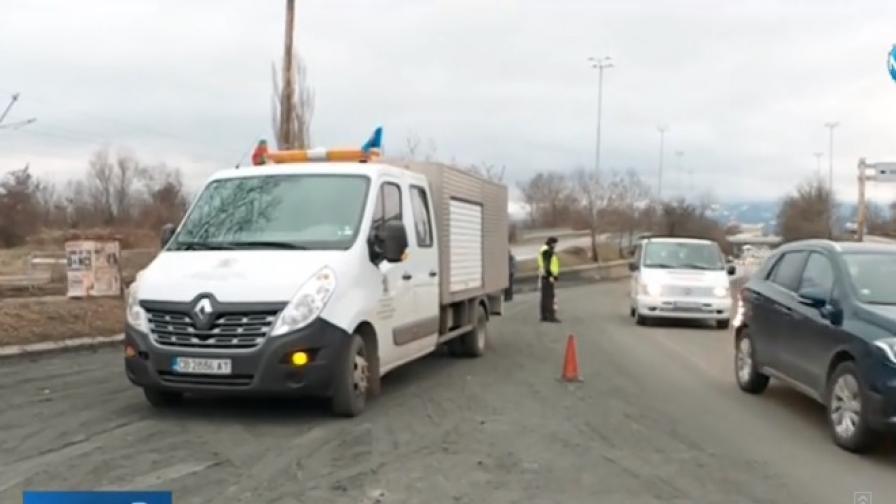 9 коли и автобус се удариха в София