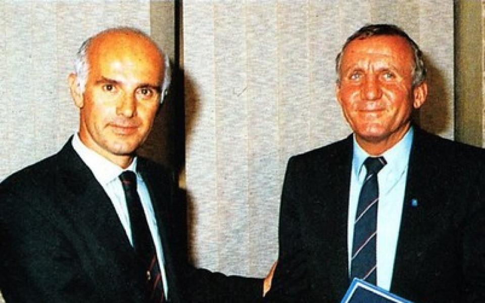 Левски честити 83-ия рожден ден на Шпайдела