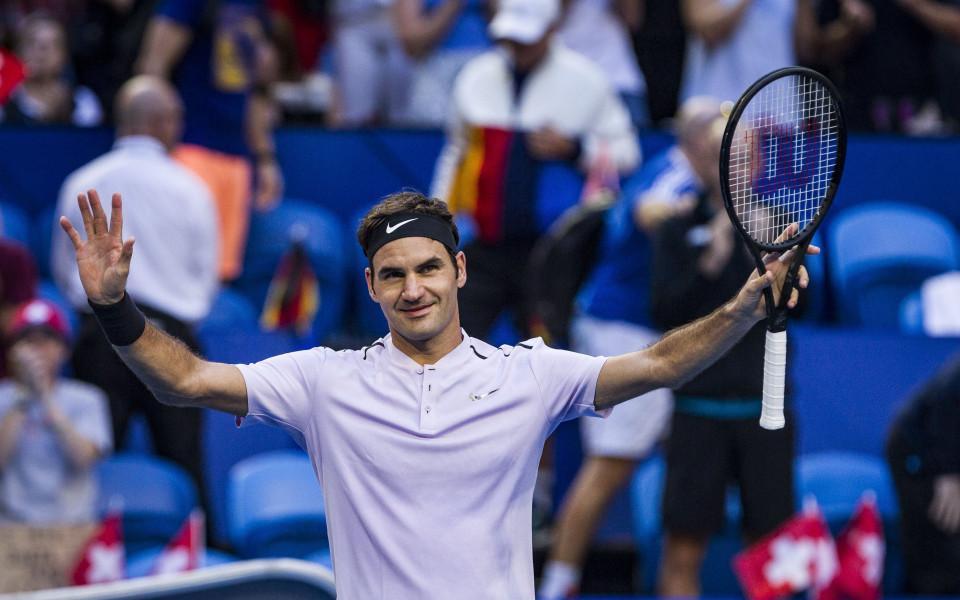 Федерер обърна Зверев и даде преднина на Швейцария
