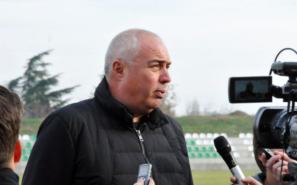 Валентин Грудев: Лига Европа е целта на Берое