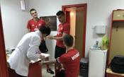 Играчите на ЦСКА минаха медицински тестове<strong> източник: cska.bg</strong>