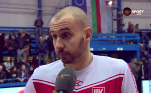 Георги Братоев: До края на Купата няма да мога да играя