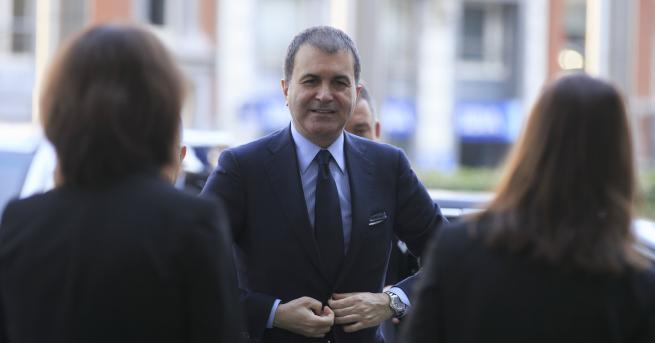 Турският министър по въпросите, свързани с Европейския съюз, Омер Челик