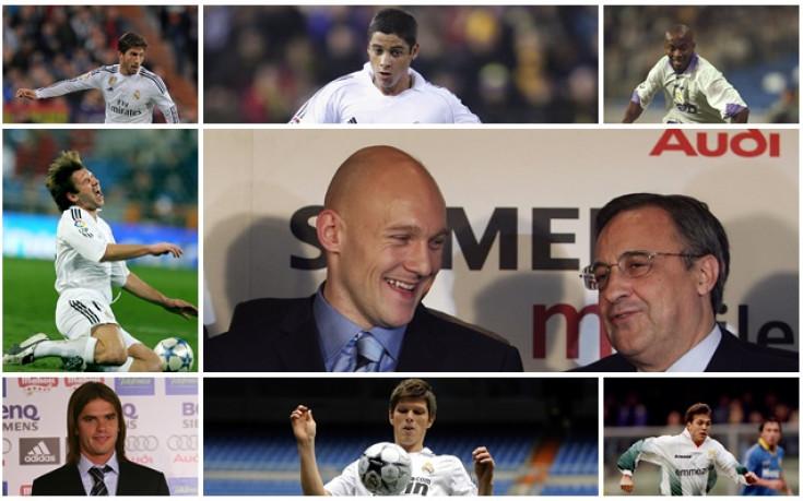 Някои зимни трансферни провали на Реал Мадрид