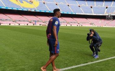 Йери Мина: Имам оферти, но искам да триумфирам с Барселона