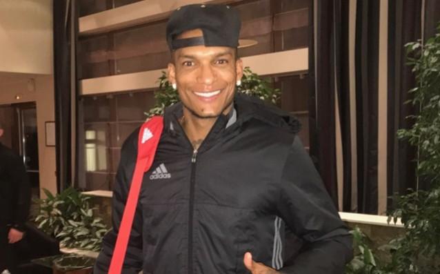 Фернандо Каранга се присъедини към съотборниците си от ЦСКА на