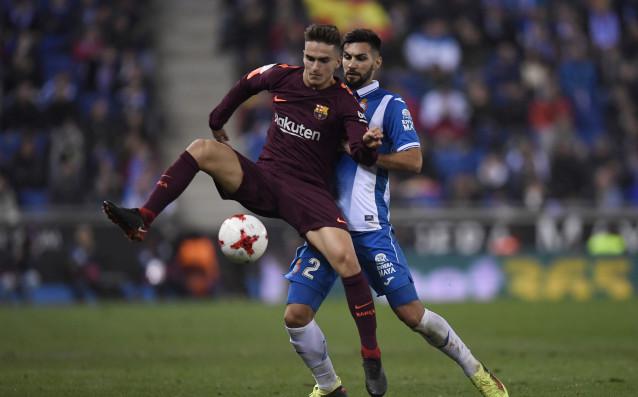 Барселона загуби с 0:1 от градския си съперник Еспаньол в