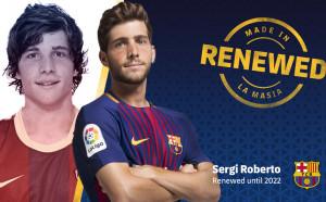 И Серхи Роберто сложи подпис под нов договор с Барселона