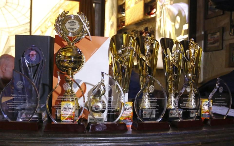 Награждават в края на месеца най-добрите баскетболисти