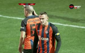 Зубков върна интригата с гол за 1:1 срещу Лудогорец
