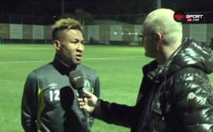 Анисе: Не ме е страх от Милан, трябва да станем шампиони на България