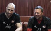 Кондиционните треньори на ЦСКА: Доволни сме от резултата