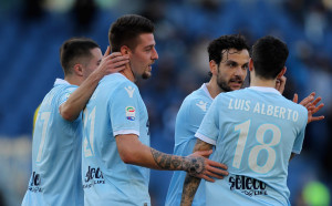 Лацио с разгромна победа за третото място в Серия А
