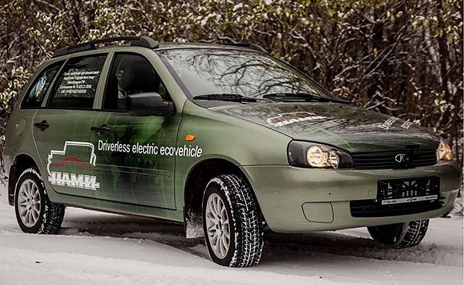 И руснаците го могат, направиха безпилотен електрически автомобил