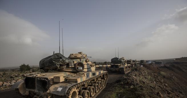 Военното командване на Турция съобщи, че един турски войник е