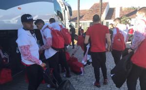 ЦСКА пристигна в базата си в Испания след 10 часа път