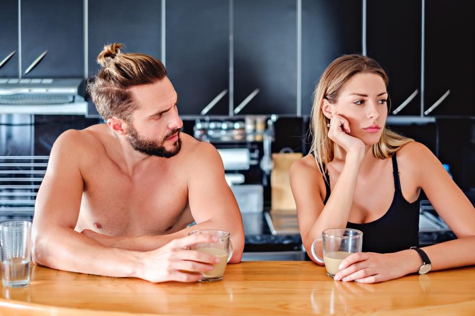 семеен скандал спор дойка каране