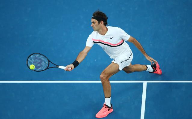 Роджър Федерер се справи лесно със съпротивата на Томаш Бердих