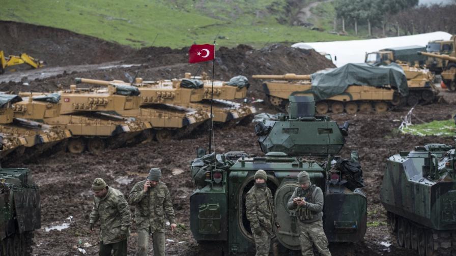Oбрат в Сирия, Дамаск праща армията срещу Турция