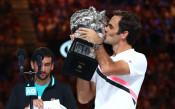 Крал Роджър! Федерер взе №20 в Големия шлем след пет сета тенис красота с Чилич