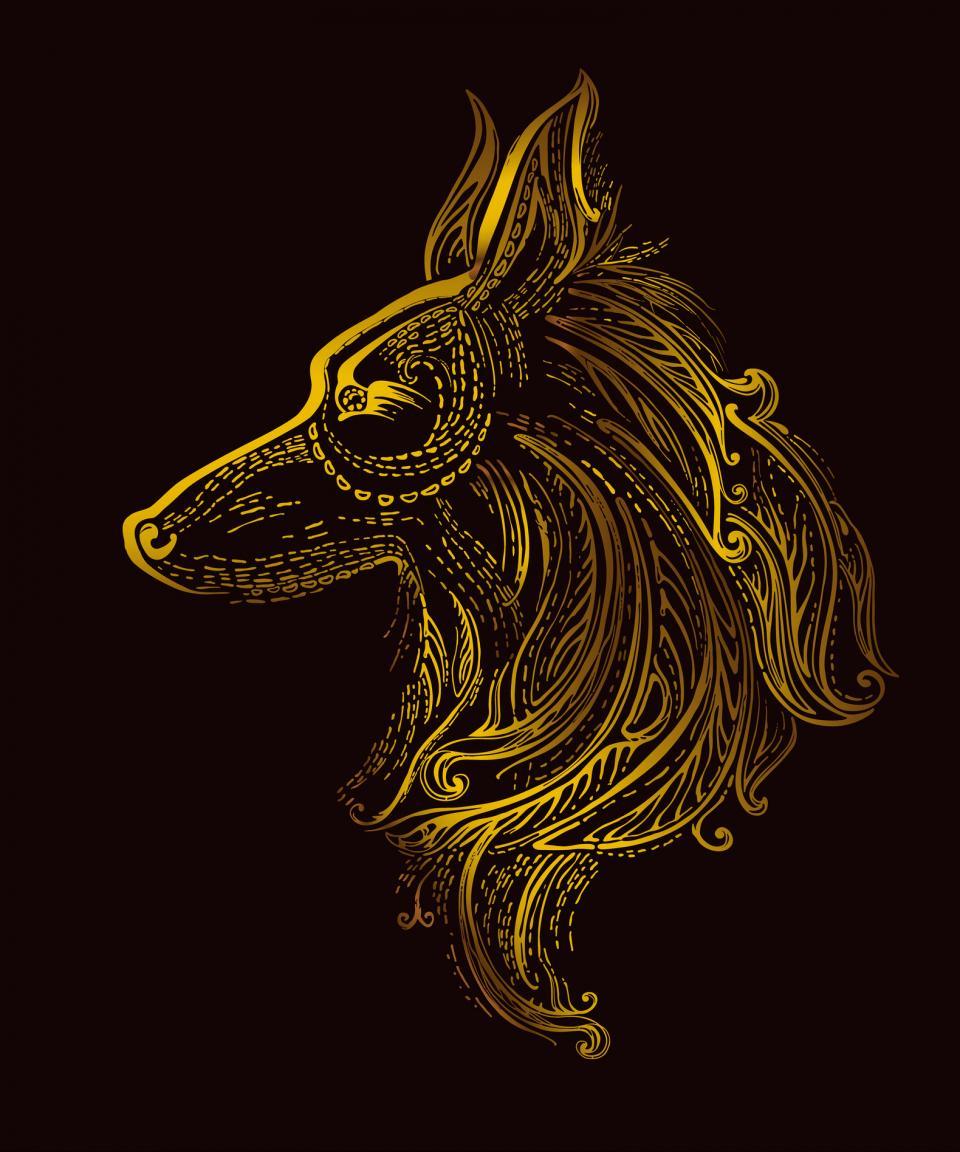 китайско жълто куче