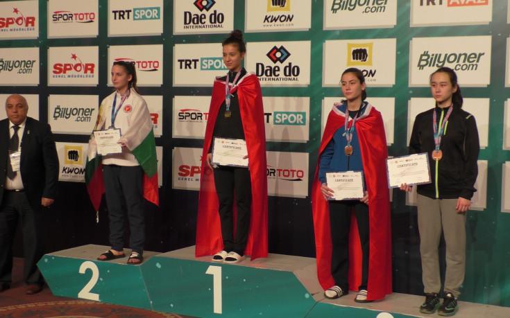 Нов медал за България на Европейското клубно първенство по таекуондо в Истанбул