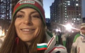 Емоциите на Сани Жекова на старта на Игрите
