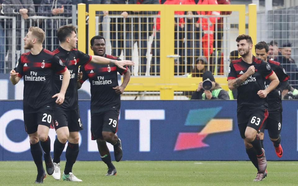 Милан загря за Лудогорец с бой над слабак