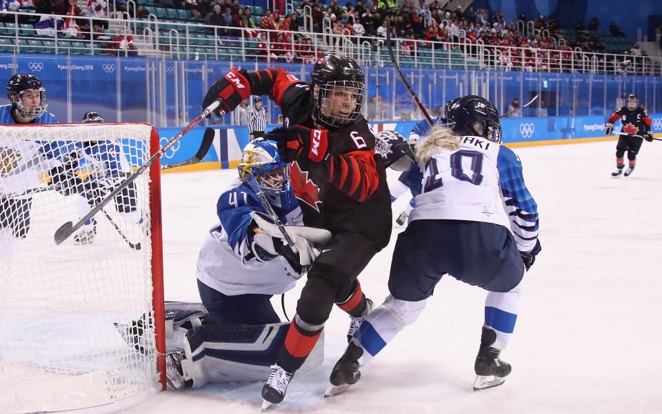 Канада срази Финландия и остана лидер в група А