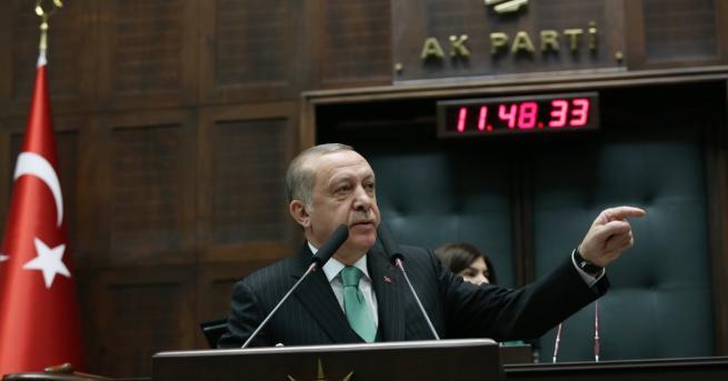 Турският президент Реджеп Тайип Ердоган критикува остро САЩ преди предстоящото