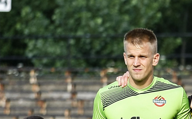 Вратарят Даниел Кайзер поднови днес тренировките в Ботев Пловдив, съобщиха