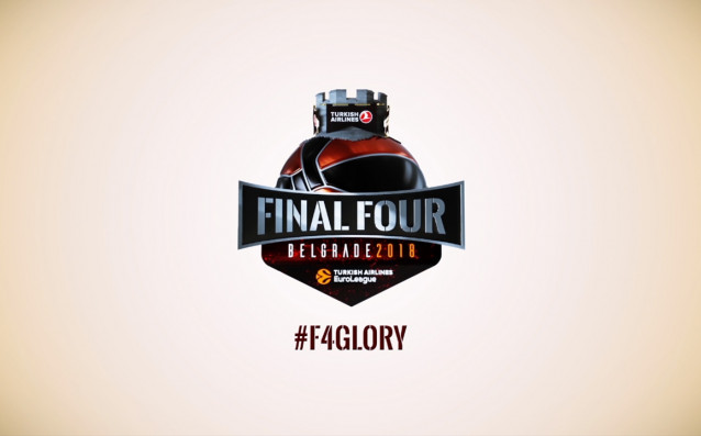 Организаторите на Финалната четворка набаскетболнатаЕвролигапредставиха логото на турнира за тази