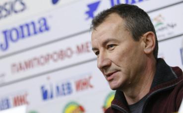 Стамен Белчев: Всички искаме да запишем първа победа