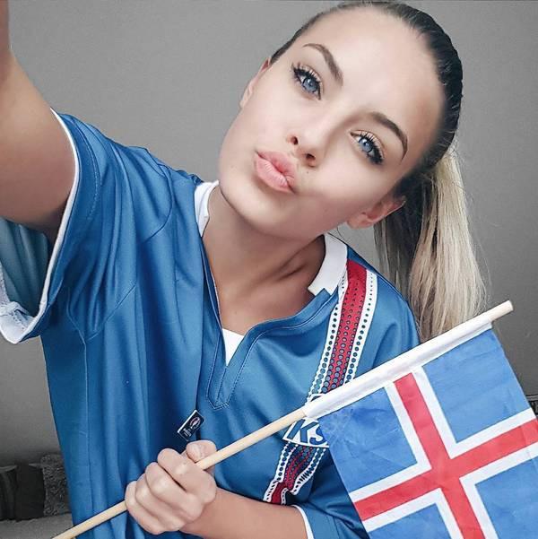 Исландски фенки и красавици<strong> източник: facebook.com/pg/GirlsIceland</strong>