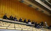 Футболистите на Левски и Наско Сиарков подкрепят баскетболистите на Тити<strong> източник: LAP.bg</strong>