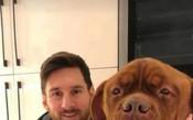 Лео Меси и кучето му<strong> източник: instagram.com/leomessi/ и instagram.com/antoroccuzzo88/</strong>