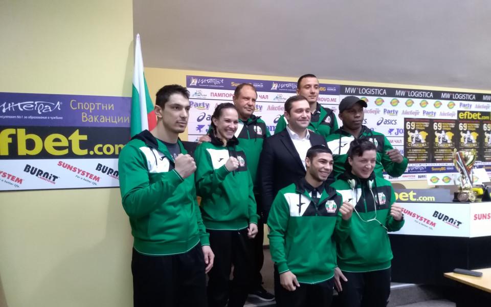 """14 мъже и 13 жени ще боксират за България на турнира """"Странджа"""""""