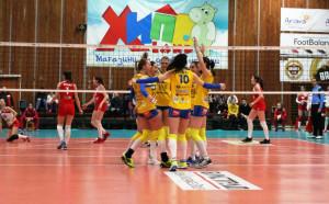 Марица продължи победния си ход в НВЛ срещу ЦСКА