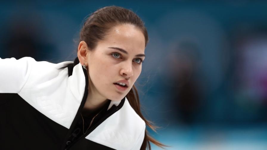 Руската атлетка Анастасия Бризгалова предизвика сензация.