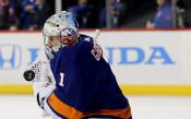 Вратар от НХЛ изригна с 45 спасявания