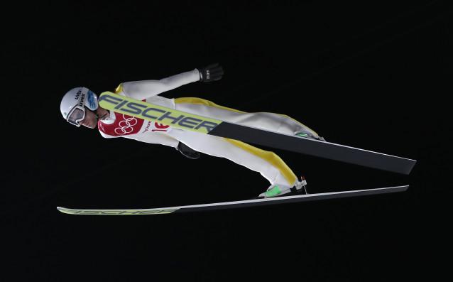 Българинът Владимир Зографски завърши 35-и на голямата шанца на олимпийския