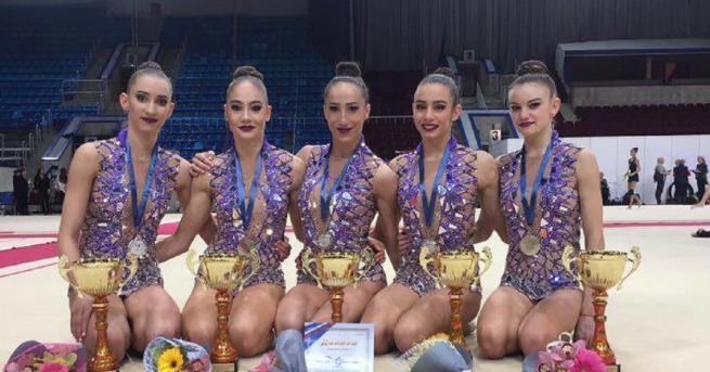 Ансамбълът по художествена гимнастика на България спечели сребърен медал в